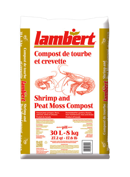 Lambert Shrimp and Peat Moss Compost - 30L
