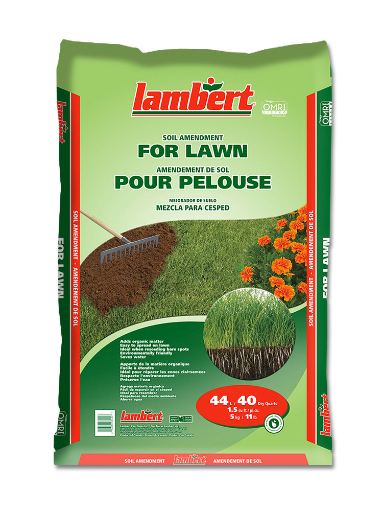 Lambert Organic Lawn Soil Amendment (OMRI Listed) - 44L