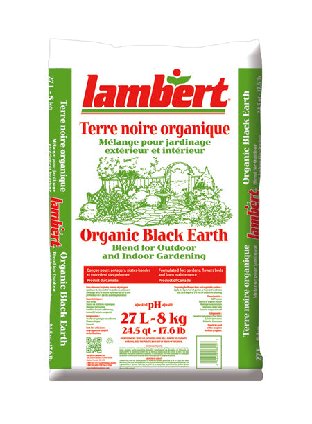 Lambert Organic Black Earth - 27L