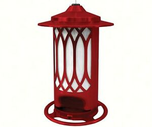 Bird Feeder Lattice Feeder Jolly Red