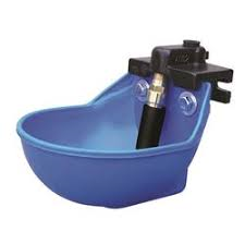 Plastic Water Bowl -Super Flow Valve