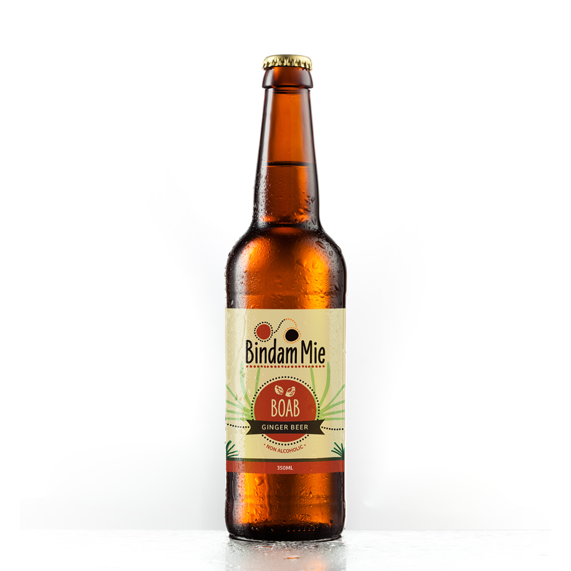 Non-Alcoholic Boab Ginger Beer (350ml bottle)