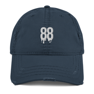 88 Drip Distressed Dad Hat