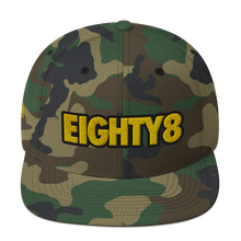 Load image into Gallery viewer, Eighty8 Snapback Hat