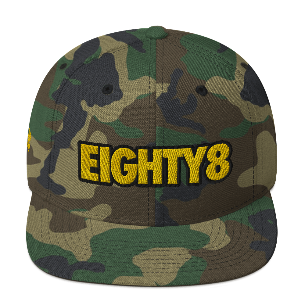 Eighty8 Snapback Hat