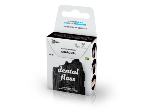 Dental Floss 50m Charcoal
