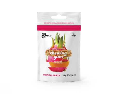 Humble Natural Chewing Gum - Tropical fruits