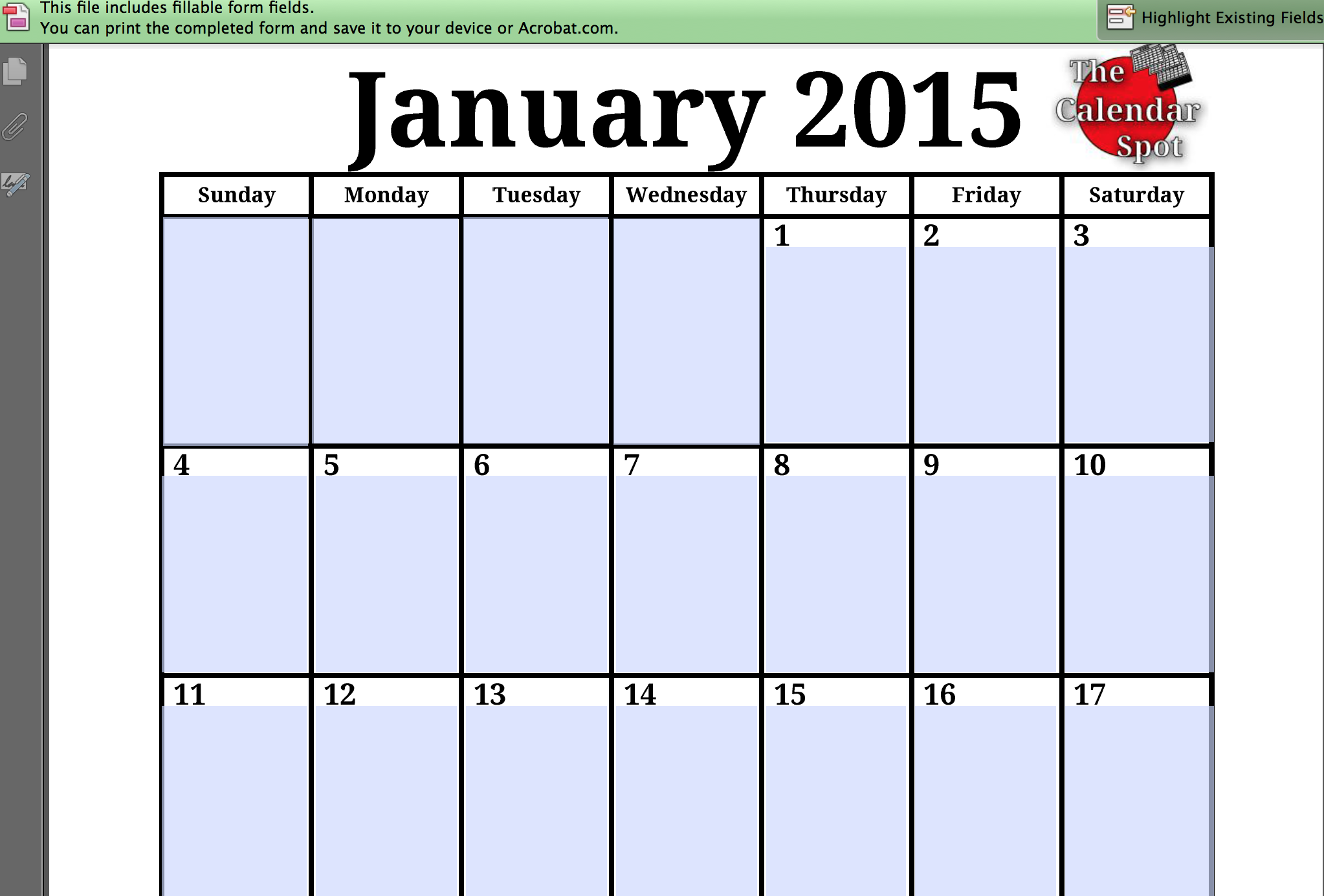 Best Free Printable 2015 Monthly Calendars 8 X 11 HD Wallpaper - https ...