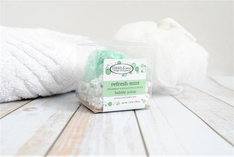 Clean Line Luxury Bath Fizzy- Spearmint and Eucalyptus Refresh Mint