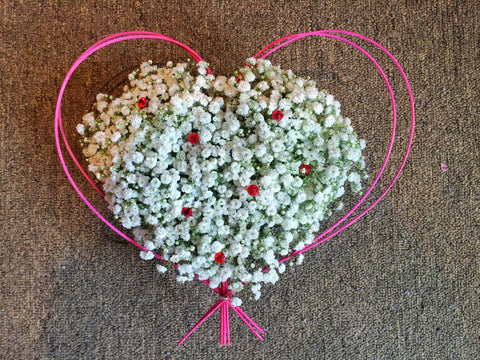 Two Hearts Beat as One - Baby's Breath