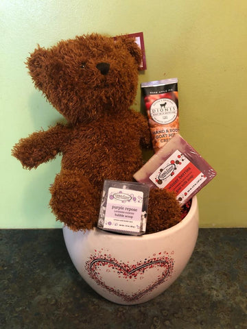 Snuggle Time Gift Basket