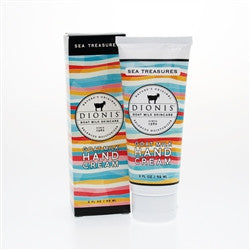 Dionis Goat Milk Hand Cream 2 fl oz in Gift Box - Sea Treasures