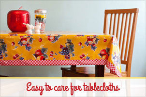 Oil Cloth Table Cloth