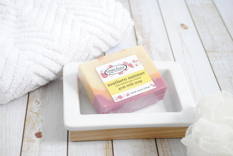 Clean Line Soap Company Goat Milk Soap - Southern Summer Wild Honeysuckle
