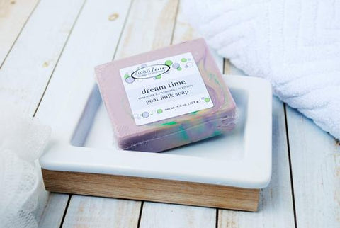 Clean Line Goat Milk Soap - Dream Time Lavender and Chamomile