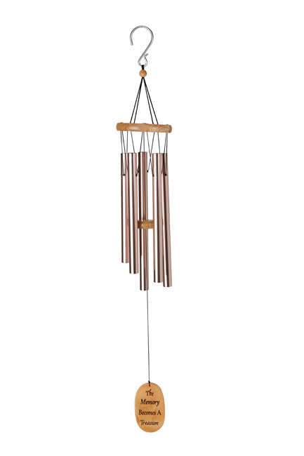 The Memory Becomes A Treasure Memorial Wind Chime