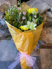 Designer's Choice - Mixed Bouquet Wrapped in Cellophane