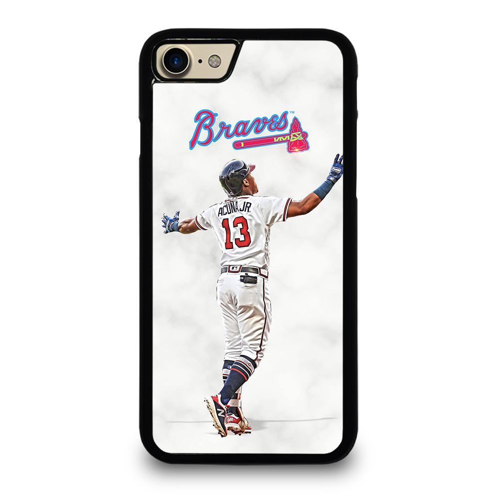 ACUNA JR ATLANTA BRAVES iPhone 7 Case,will an iphone 7 case fit an iphone 8 does iphone 7 case fit iphone 8,ACUNA JR ATLANTA BRAVES iPhone 7 Case