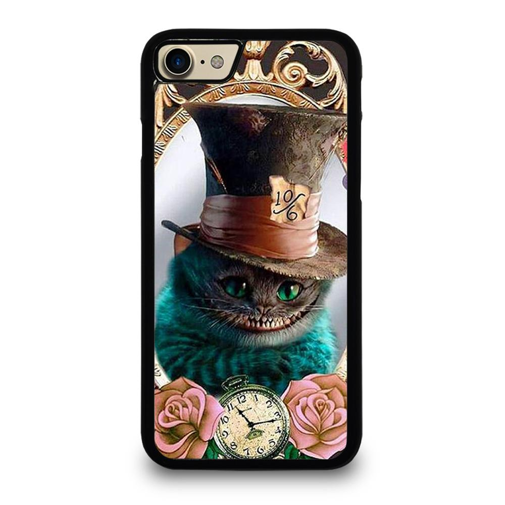 ALICE IN WONDERLAND CAT CUTE iPhone 7 / 8 Case Cover,metal iphone 7 case personalized iphone 7 case,ALICE IN WONDERLAND CAT CUTE iPhone 7 / 8 Case Cover