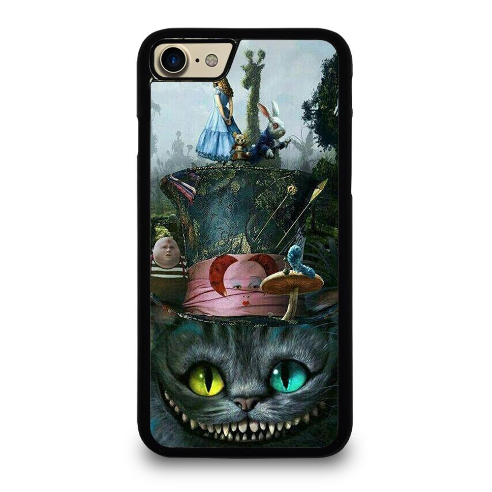 ALICE IN WONDERLAND CAT iPhone 7 Case,iphone 7 case with strap gold glitter iphone 7 case,ALICE IN WONDERLAND CAT iPhone 7 Case