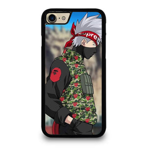 BAPE SUPREME KAKASHI NARUTO iPhone 7 Case,speck iphone 7 case best buy iphone 7 case for gold phone,BAPE SUPREME KAKASHI NARUTO iPhone 7 Case
