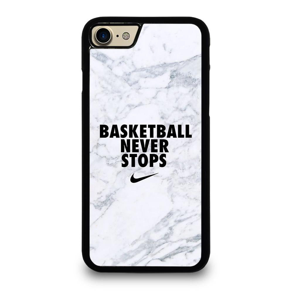 BASKETBALL NEVER STOPS MARBLE iPhone 7 / 8 Case Cover,carbon iphone 7 case customize your own iphone 7 case,BASKETBALL NEVER STOPS MARBLE iPhone 7 / 8 Case Cover