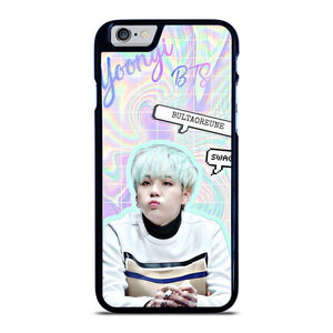 BTS SUGA CUTE iPhone 6 / 6S Case Cover,korean iphone 6 case dodgers iphone 6 case,BTS SUGA CUTE iPhone 6 / 6S Case Cover