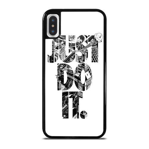 NIKE JUST DO IT TYPE iPhone X / XS case,iphone x case instagram ad grateful dead themed iphone x case,NIKE JUST DO IT TYPE iPhone X / XS case