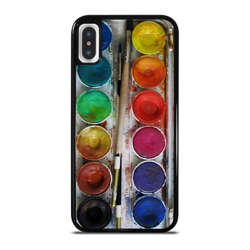 PAINT BOX WATERCOLOR iPhone X / XS case,waterfield ranger iphone x case gundam deathscythe hell iphone x case,PAINT BOX WATERCOLOR iPhone X / XS case