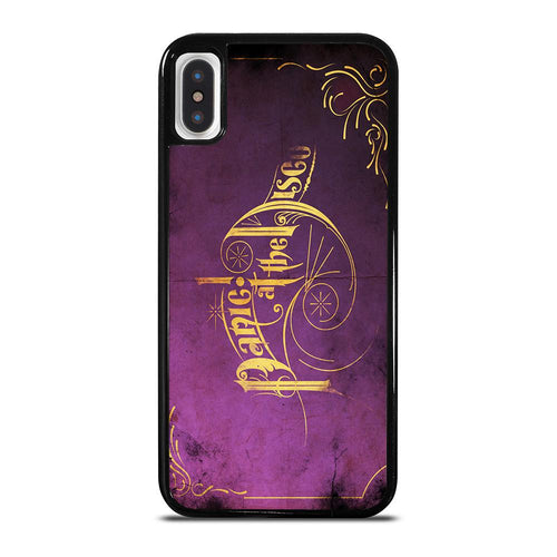 PANIC AT THE DISCO iPhone X / XS case,leather iphone x case of hong kong iphone x case mate waterfall,PANIC AT THE DISCO iPhone X / XS case