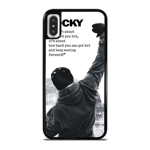 ROCKY BALBOA QUOTES iPhone X / XS Case Cover,fre iphone x case review mustard yellow iphone x case,ROCKY BALBOA QUOTES iPhone X / XS Case Cover