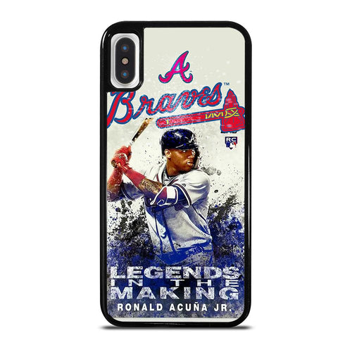 RONALD ACUNA JR ATLANTA BRAVES iPhone X / XS Case,iphone x case in walmart iphone x case taobao,RONALD ACUNA JR ATLANTA BRAVES iPhone X / XS Case