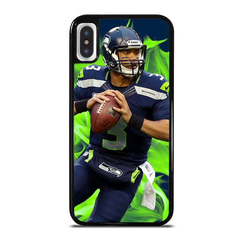 RUSSELL WILSON SEATTLE SEAHAWK NFL iPhone X / XS Case Cover,iphone x case of cowboys