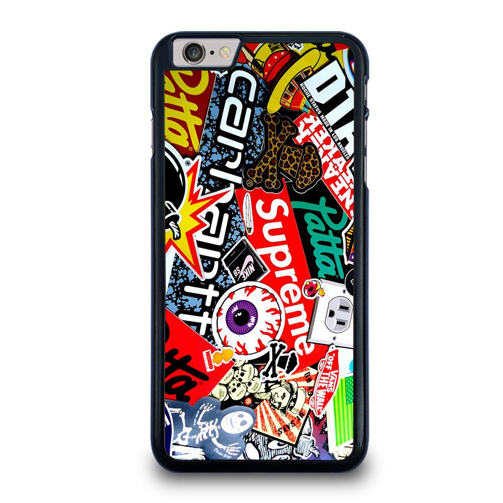 SUPREME STICKER AND OTHER BRAND iPhone 6 / 6S Plus Case,lamboghinni iphone 6 plus case iphone 6 plus case of mieky,SUPREME STICKER AND OTHER BRAND iPhone 6 / 6S Plus Case