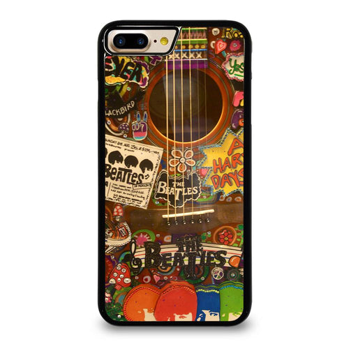 THE BEATLES GUITAR COLLAGE iPhone 7 Plus Case,iphone 7 plus case charger lighter connect pods mlitary grade iphone 7 plus case with screen protector,THE BEATLES GUITAR COLLAGE iPhone 7 Plus Case