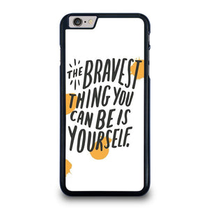 THE BRAVE THING QUOTE iPhone 6 / 6S Plus Case Cover,obliq iphone 6 plus case space gray monogrammed iphone 6 plus case otterbox,THE BRAVE THING QUOTE iPhone 6 / 6S Plus Case Cover
