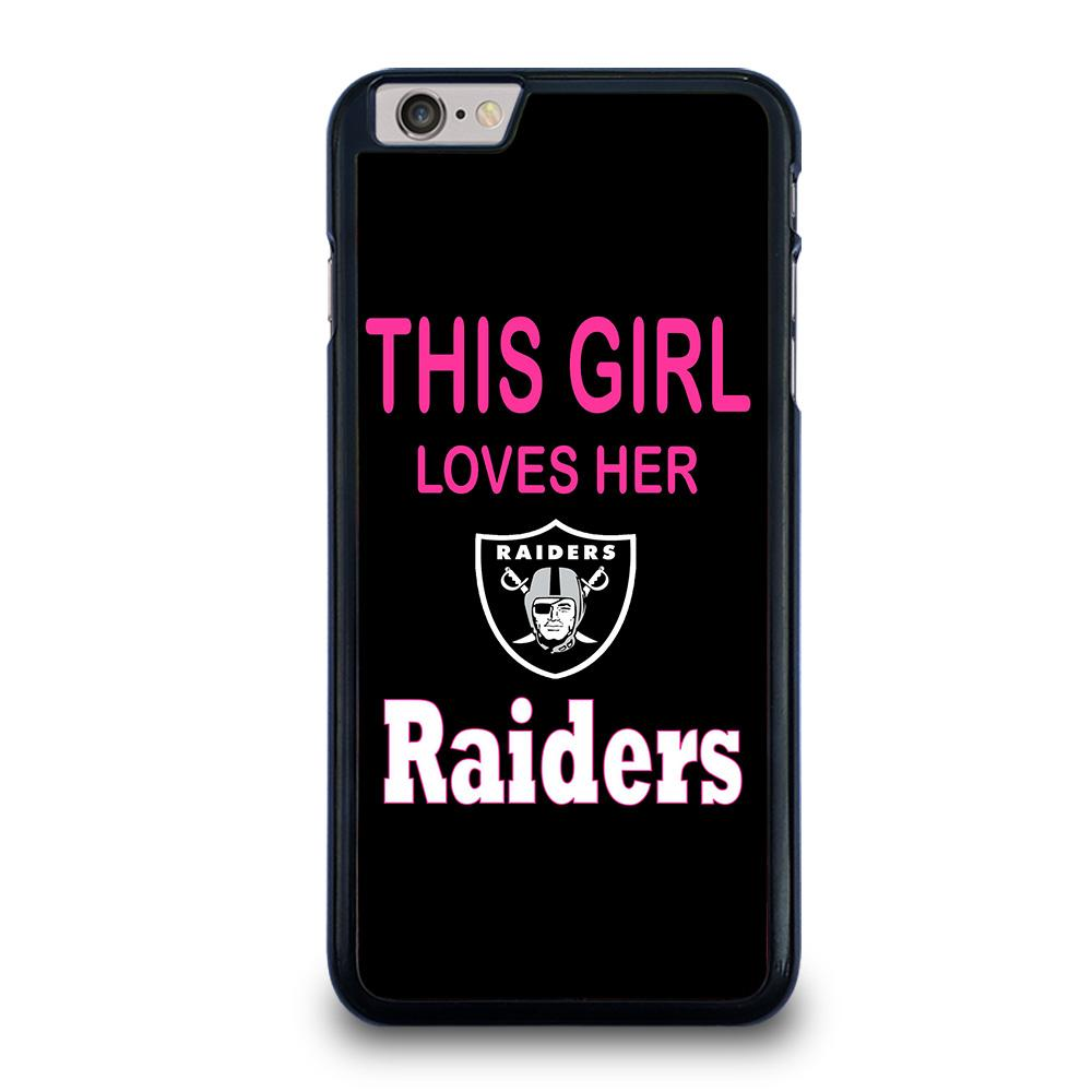 THIS GIRL LOVES THE RAIDERS iPhone 6 / 6S Plus Case,iphone 6 plus case in sacramento harlowe sparkle and shine iphone 6 plus case,THIS GIRL LOVES THE RAIDERS iPhone 6 / 6S Plus Case