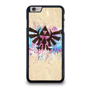 TRIFORCE SPLASH EMBLEM ART iPhone 6 / 6S Plus Case,putting ozark iphone 6 plus case on iphone 6 plus case teen girl,TRIFORCE SPLASH EMBLEM ART iPhone 6 / 6S Plus Case
