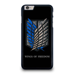 WINGS OF FREEDOM AOT iPhone 6 / 6S Plus Case Cover,overwatch mercy iphone 6 plus case iphone 6 plus case clear holographic geometric low poly crystal quartz design,WINGS OF FREEDOM AOT iPhone 6 / 6S Plus Case Cover