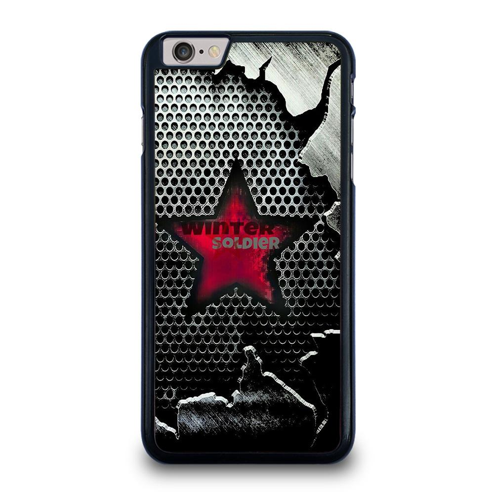 WINTER SOLDIER LOGO MARVEL iPhone 6 / 6S Plus Case Cover,does the iphone 8 plus fit into an iphone 6 plus case how to remove sonix iphone 6 plus case,WINTER SOLDIER LOGO MARVEL iPhone 6 / 6S Plus Case Cover