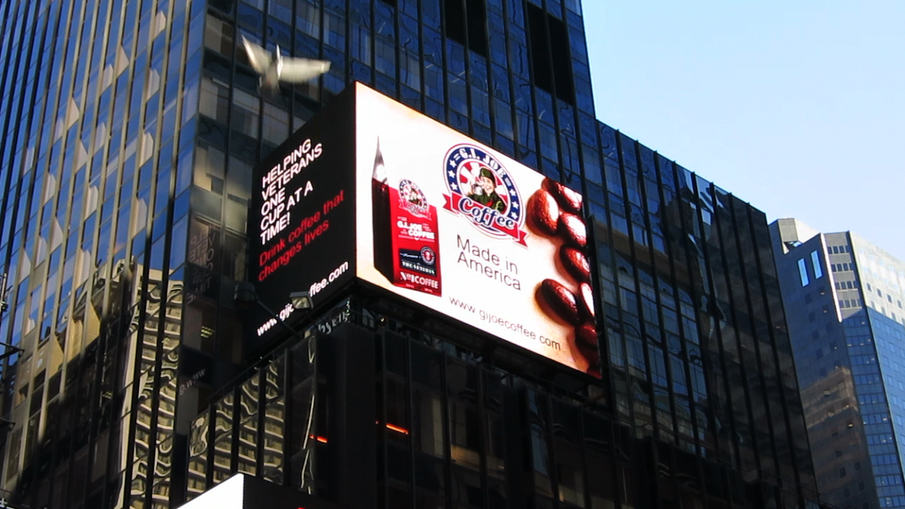 G.I. Joe Coffee Company to Promote Coffee & Cause on Time Square