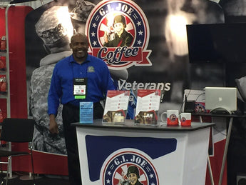 G.I. Joe Coffee attends the CoffeeFest - Anaheim