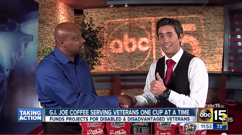 G.I. Joe Coffee Live on ABC15 Monday Feb 24th!