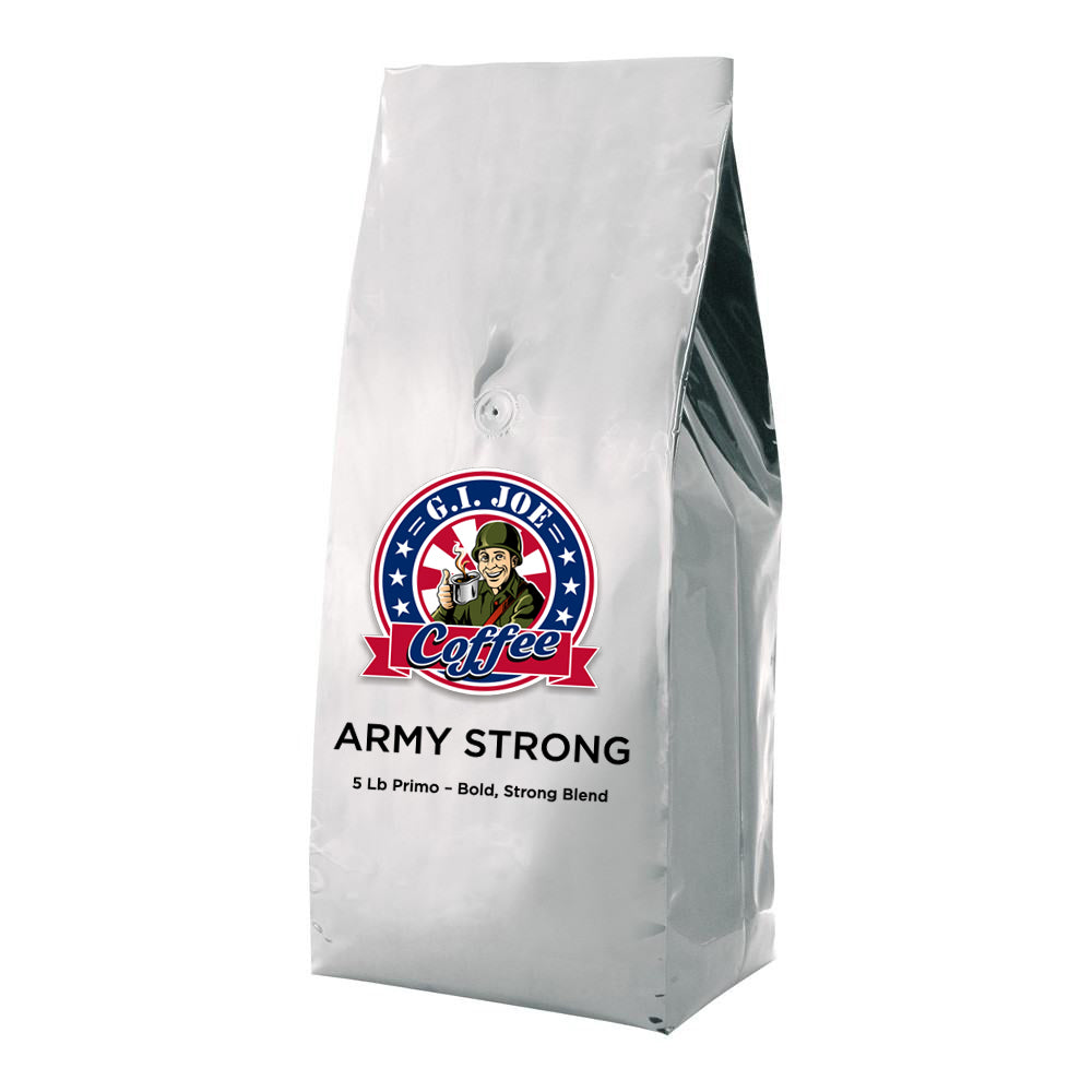 5 Lb - Army Strong Primo – Bold, Strong Blend