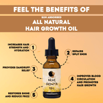 Hair Growth Oil - Sun Absorbed