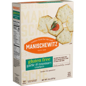 Manischewitz Gluten Free Garlic & Rosemary Crackers