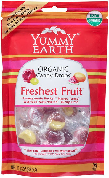 Yummy Earth Organic Assorted Candy Drops