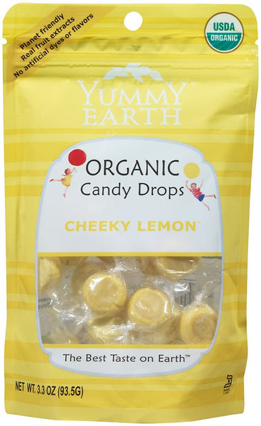 Yummy Earth Organic Cheeky Lemon Drops