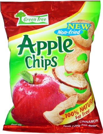 Green Tree Apple Chips { Cinnamon }