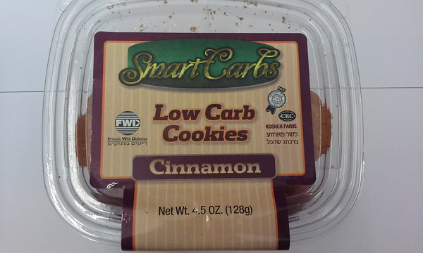 "Smart Carb ""LOW CARB "" Gluten Free Cinnamon Cookies"